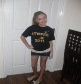 May 2011, Going Gold at Gymfest, t-shirt designed by Chloe